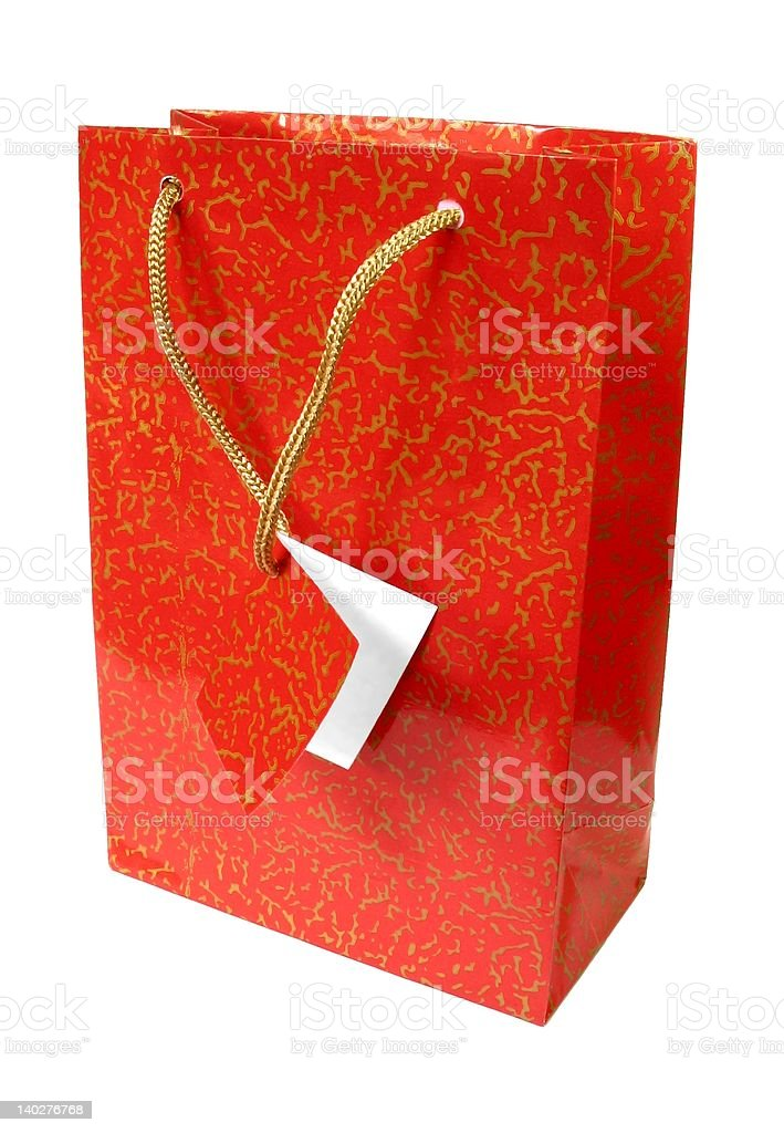 Shopping bag - 2 royalty-free stock photo