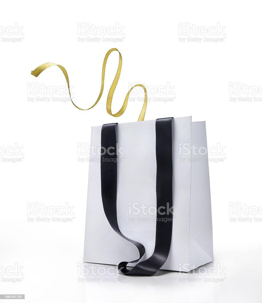 Shopping bag and loop royalty-free stock photo