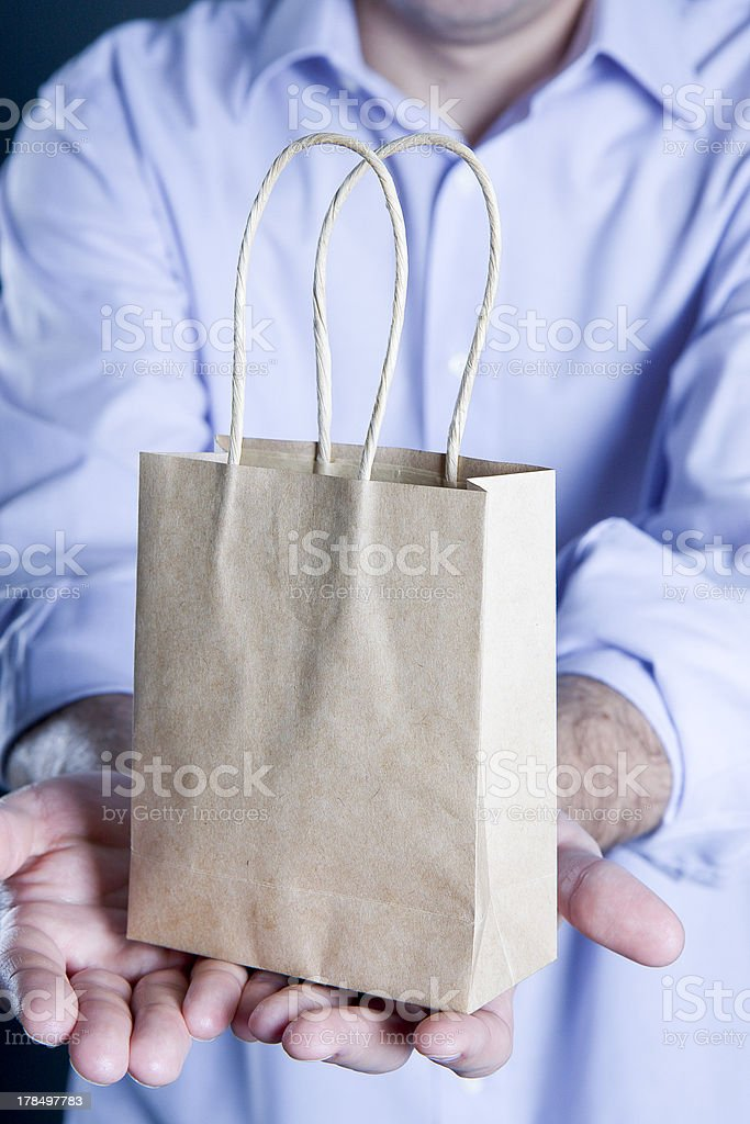 shopping bag royalty-free stock photo