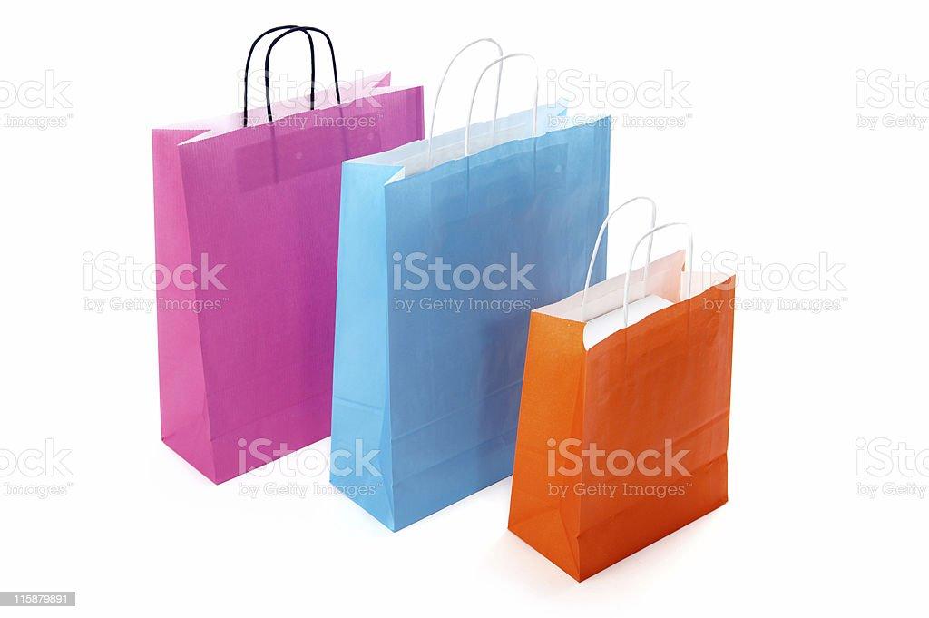 Shopping Bags II royalty-free stock photo