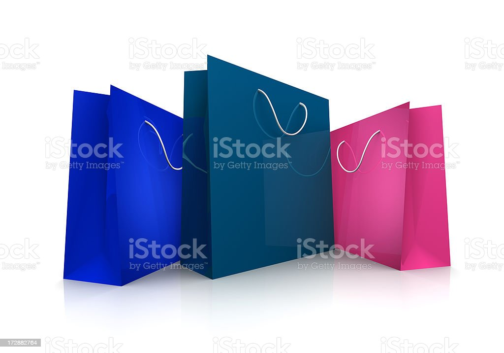 Shopping Bags (XXL) royalty-free stock photo
