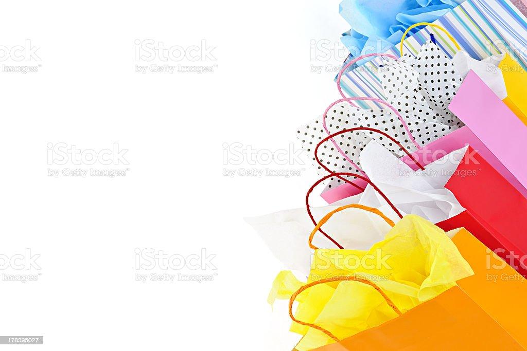 Shopping bags stock photo