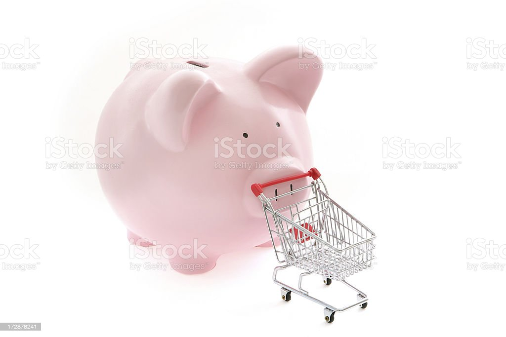Shopping Budget royalty-free stock photo