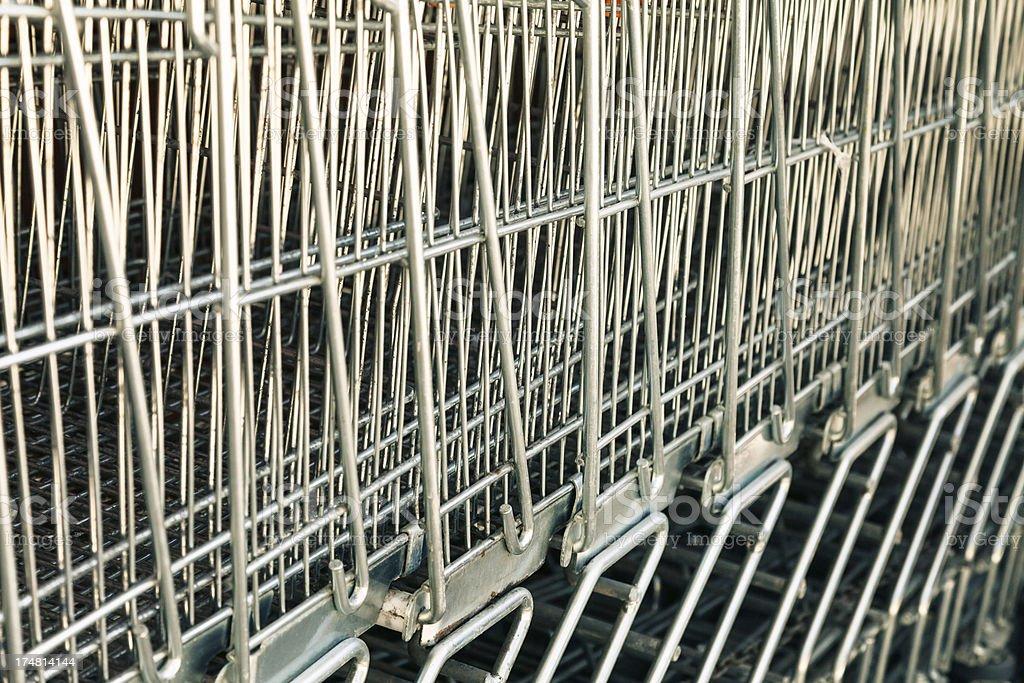 Shopping Cart Details royalty-free stock photo