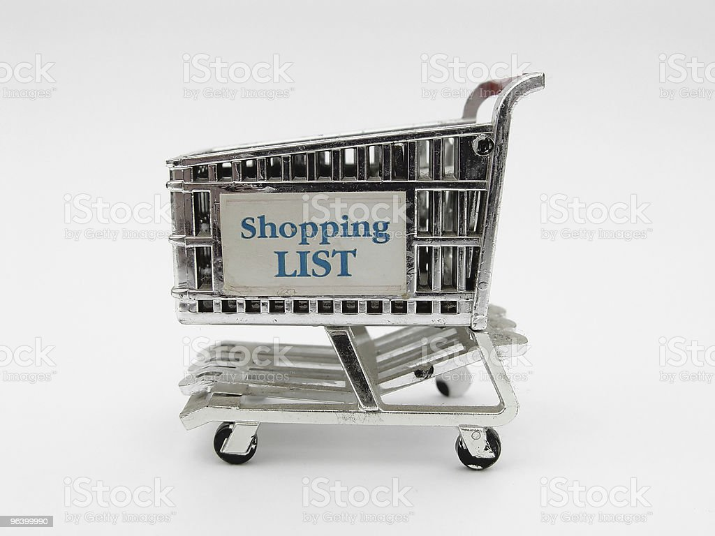 Shopping Cart II royalty-free stock photo