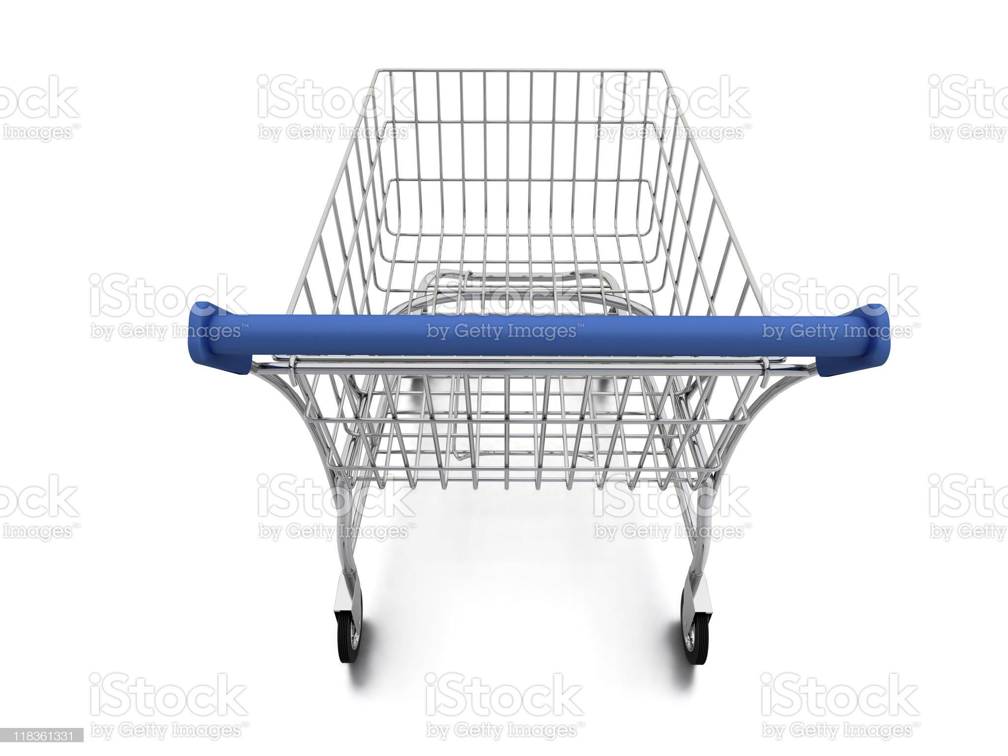 Shopping Cart royalty-free stock photo