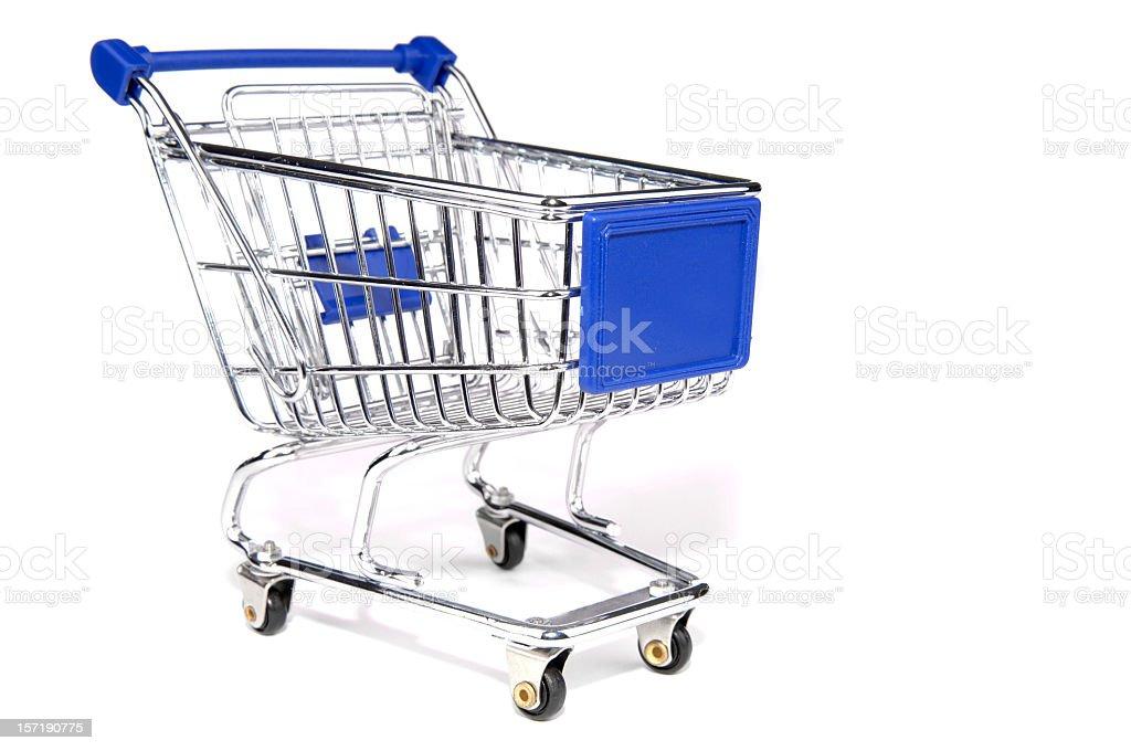Shopping cart #3 royalty-free stock photo