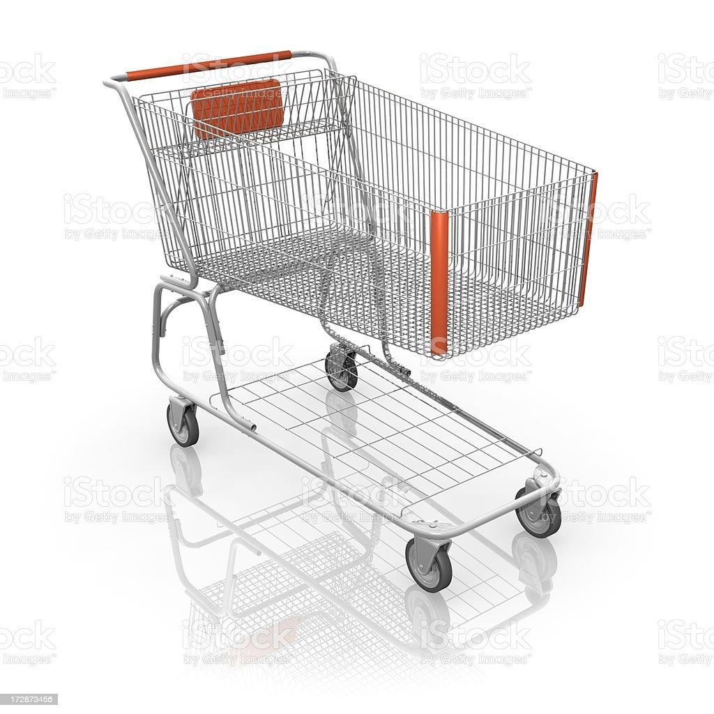 ショッピングカートの ロイヤリティフリーストックフォト