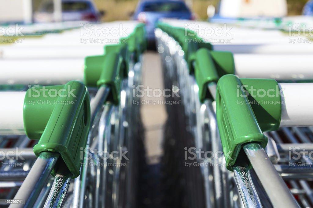 shopping carts royalty-free stock photo