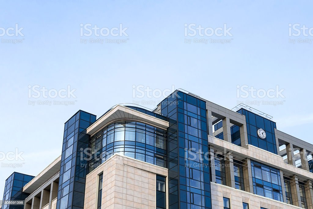 Shopping center stock photo