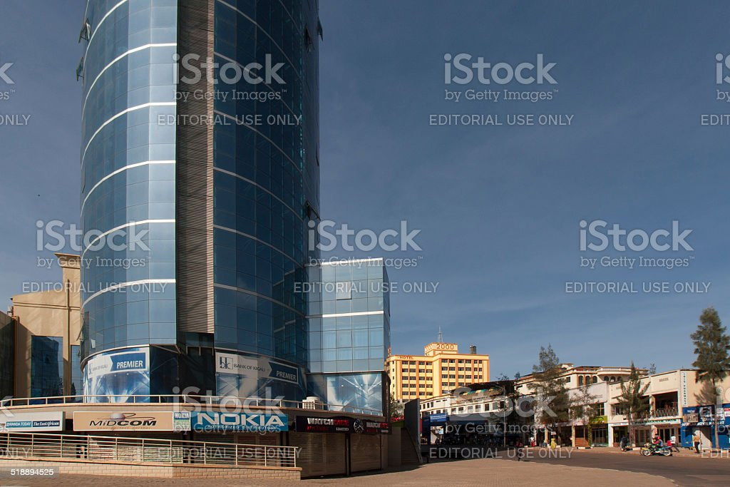 KCT shopping centre in Downtown Kigali stock photo