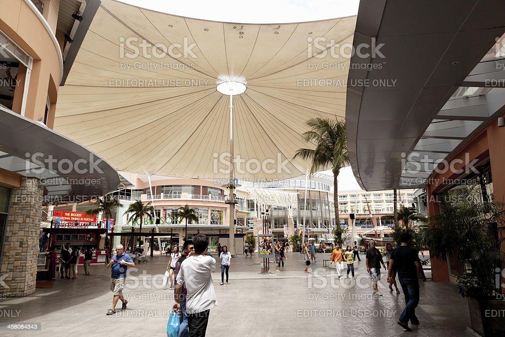 Shopping centre royalty-free stock photo