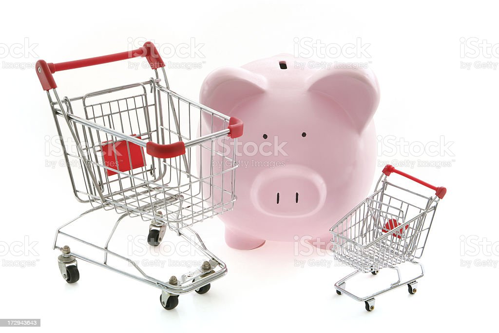 Shopping Choices royalty-free stock photo