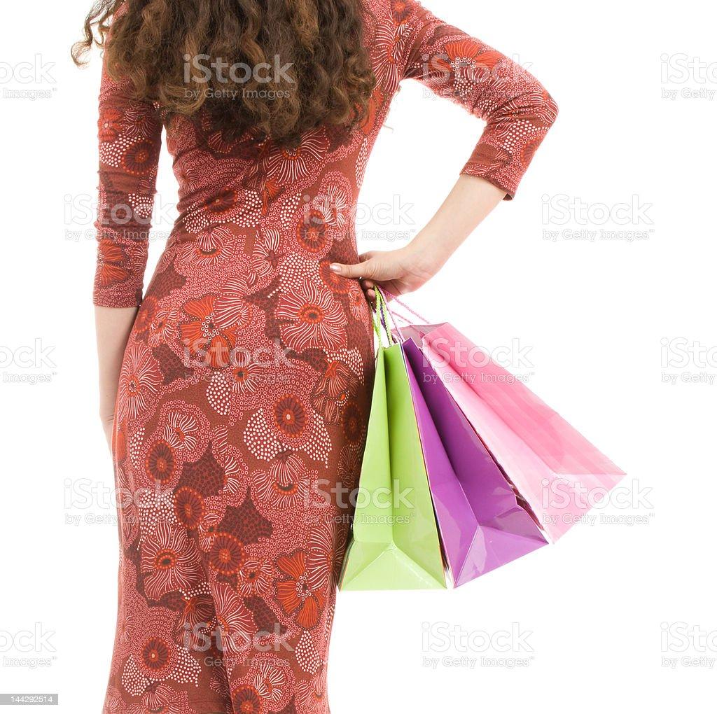 Shopping day royalty-free stock photo