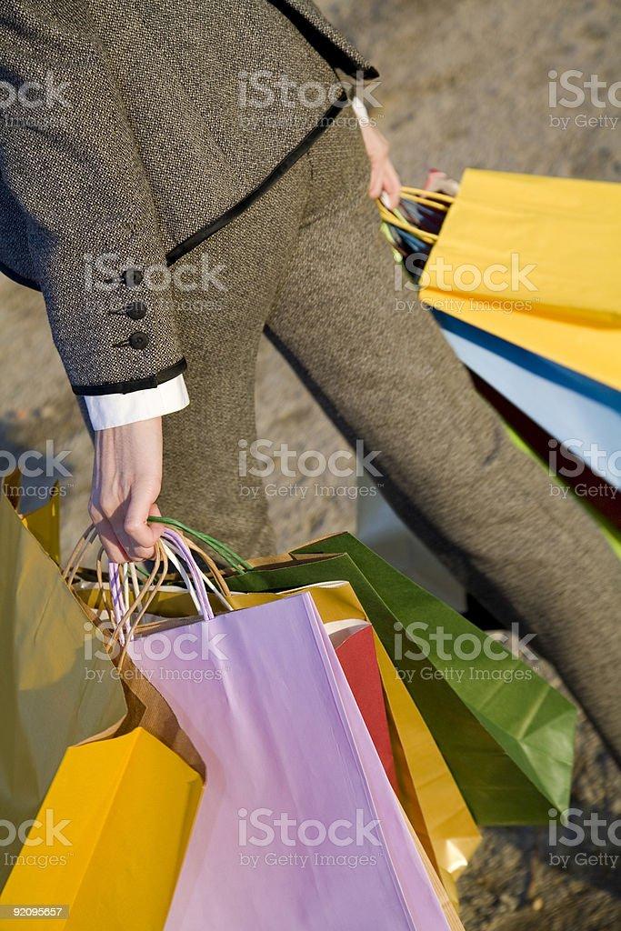 Shopping detail royalty-free stock photo