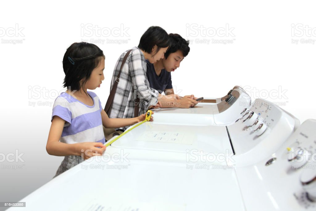 Shopping for Appliance stock photo