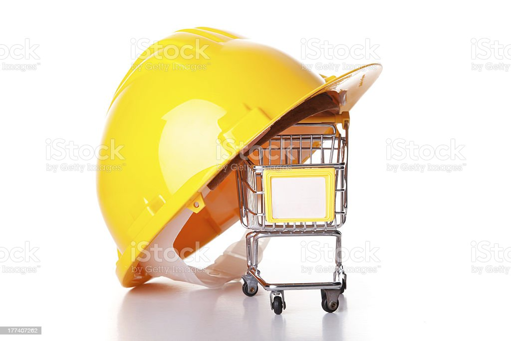 Shopping for construction royalty-free stock photo