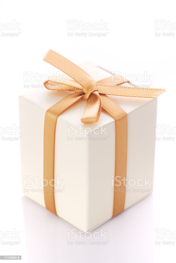 Shopping for gift royalty-free stock photo