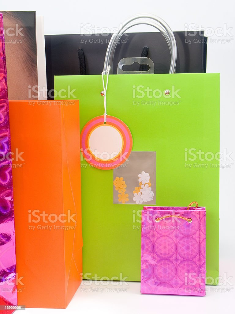 Shopping / Gift bags #2 royalty-free stock photo