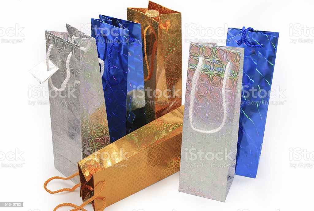 Shopping Gift Bags royalty-free stock photo