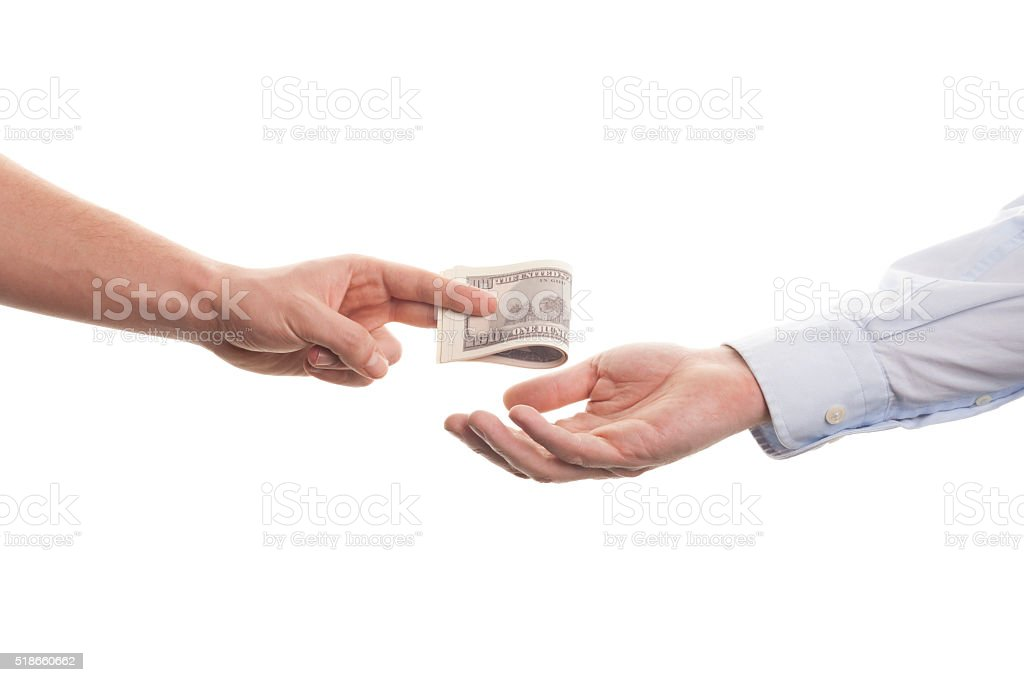 Shopping hands stock photo