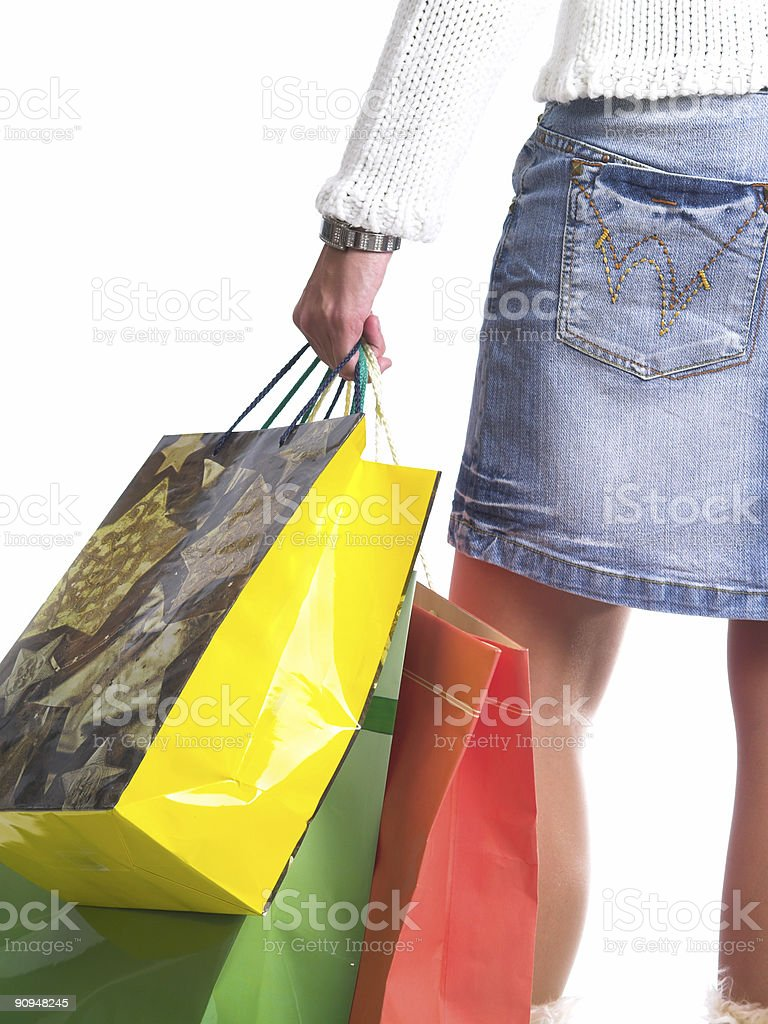 Shopping I royalty-free stock photo