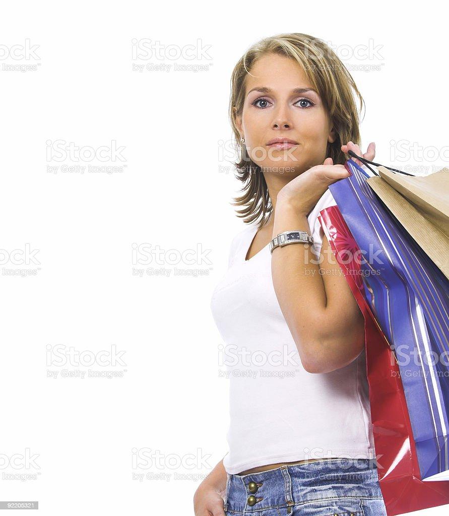 Shopping I stock photo