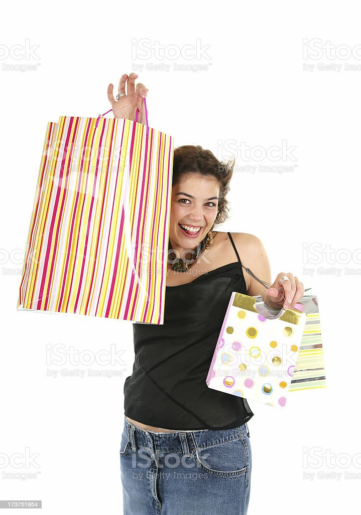 Shopping II royalty-free stock photo