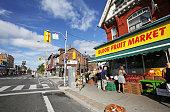 Shopping in Toronto's Korea Town, Bloor Street, Seaton Village Neighbourhood