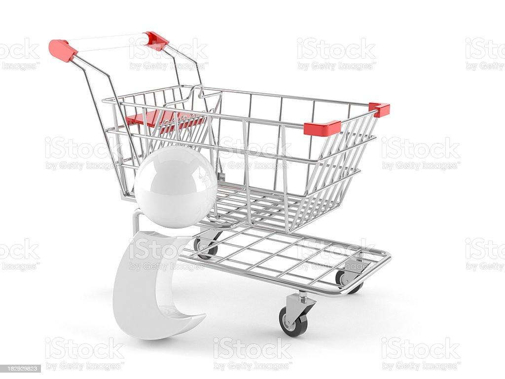 Shopping information stock photo