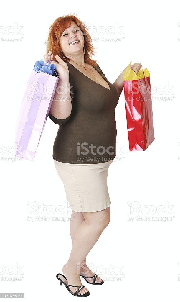 Shopping Joy royalty-free stock photo