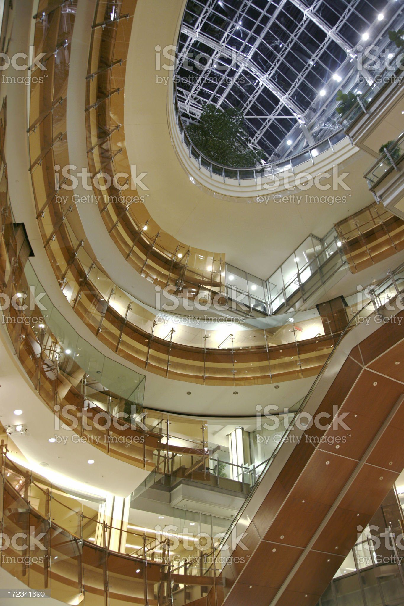 Shopping Mall Atrium royalty-free stock photo