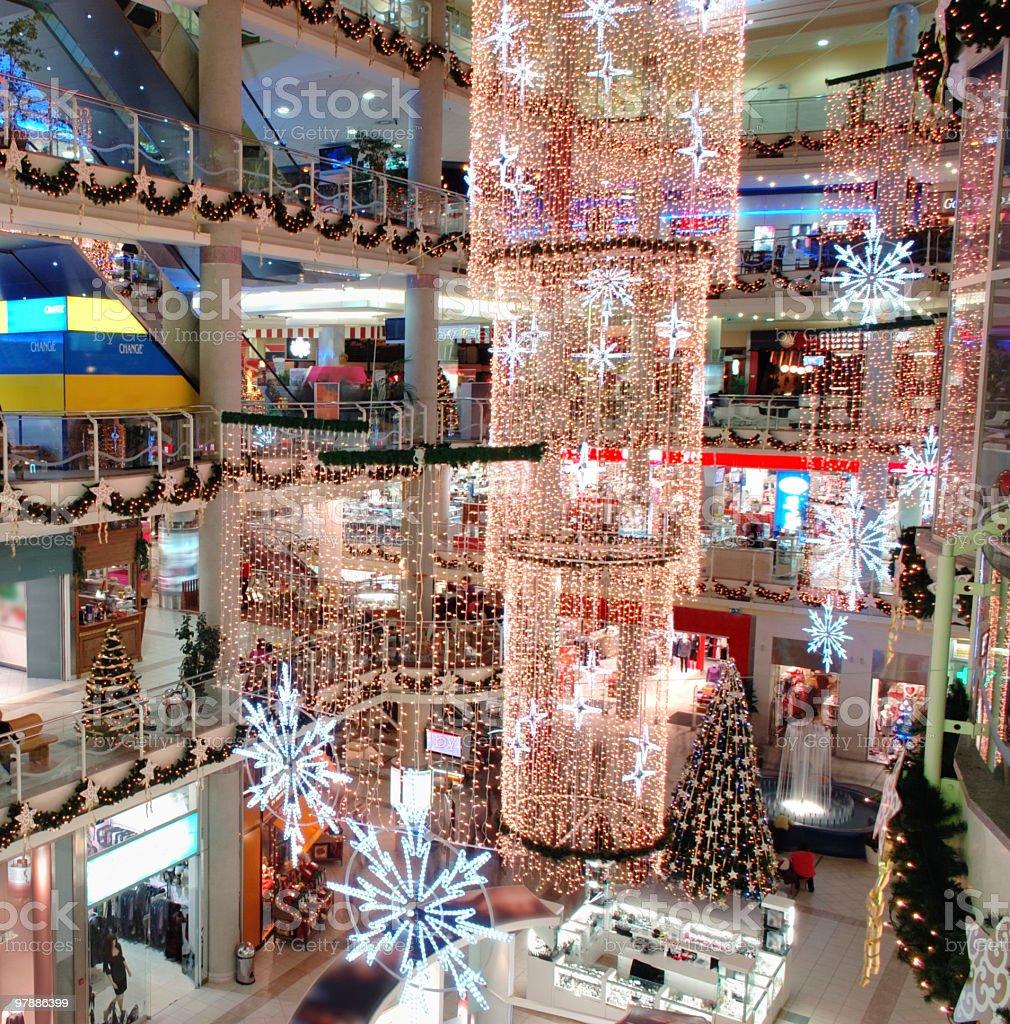 Shopping Mall royalty-free stock photo