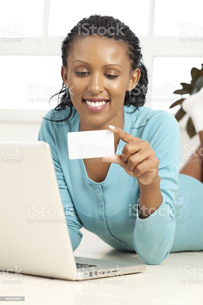 Shopping on-line. royalty-free stock photo