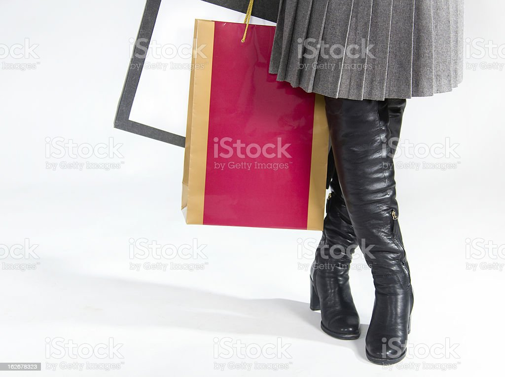 Shopping royalty-free stock photo