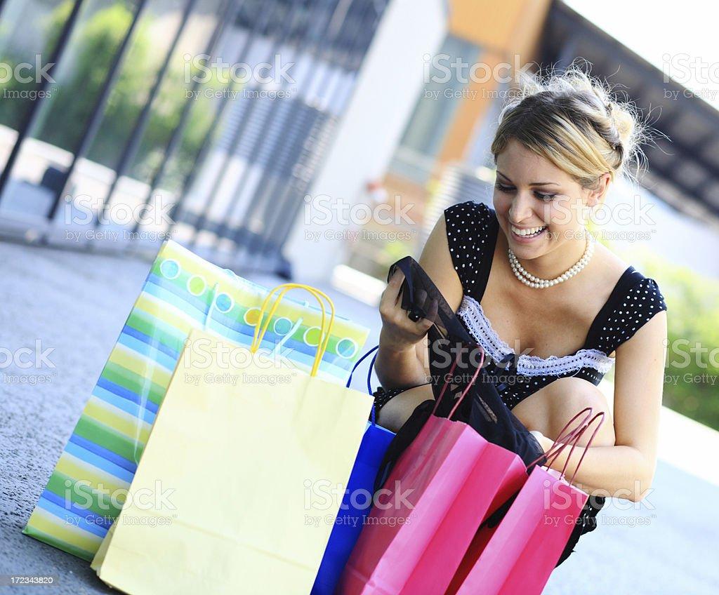 Shopping royalty-free stock photo