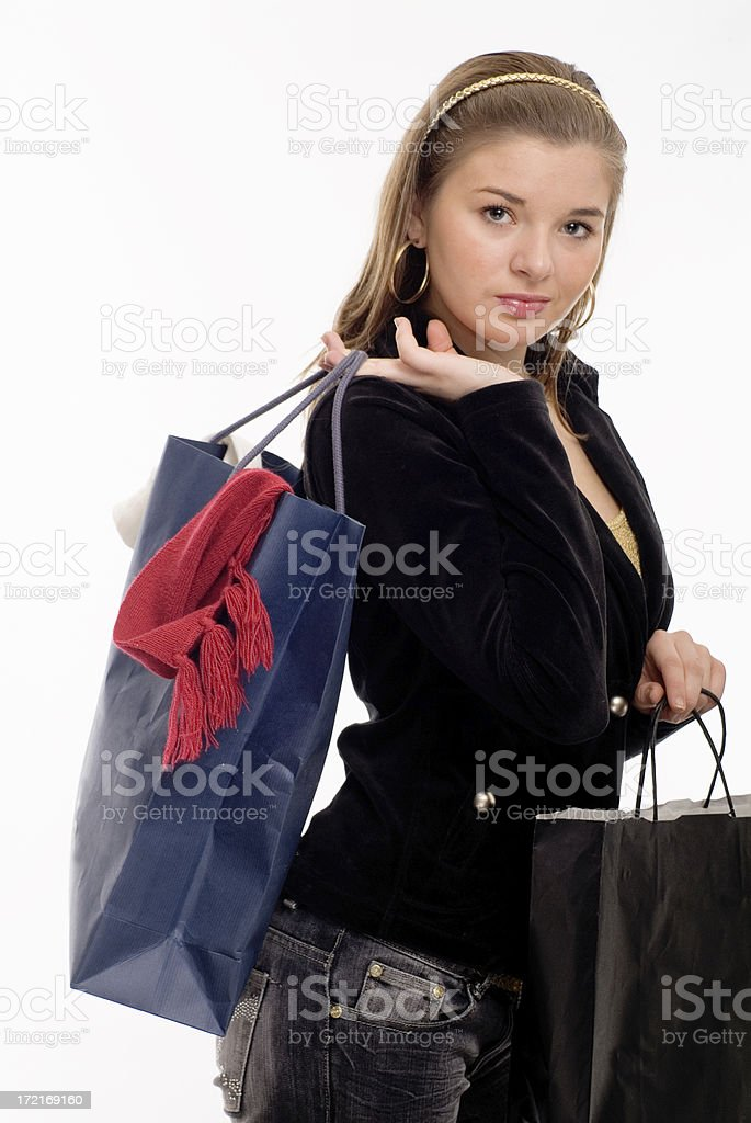 Shopping Series II royalty-free stock photo