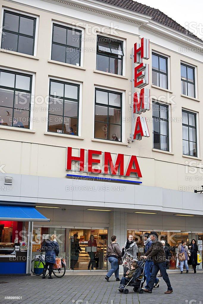 Shopping 's-Hertogenbosch # 1 XXXL stock photo