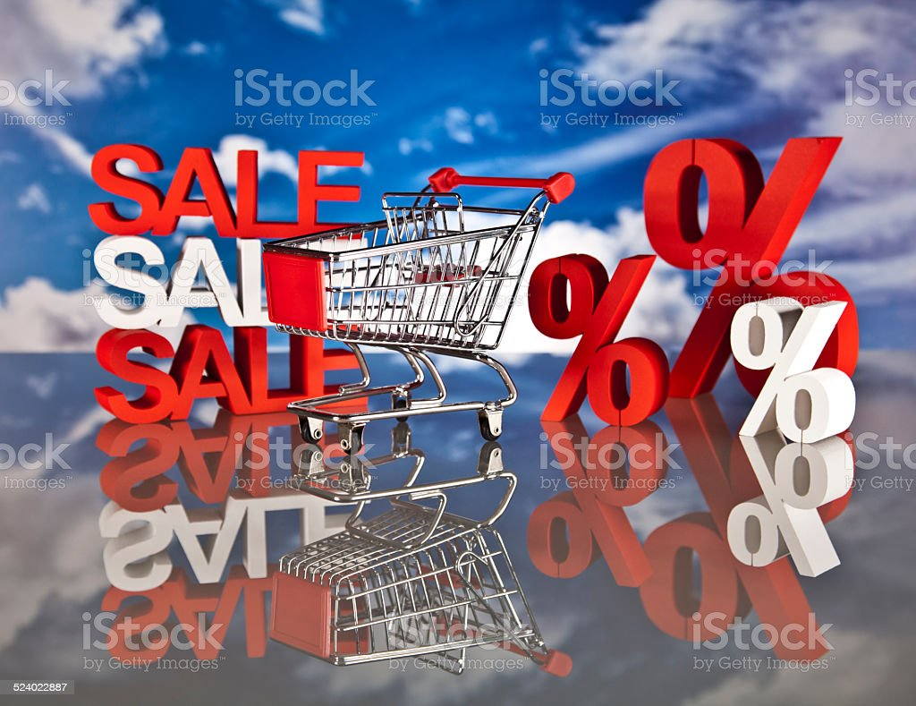 Shopping, shop basket, market stock photo