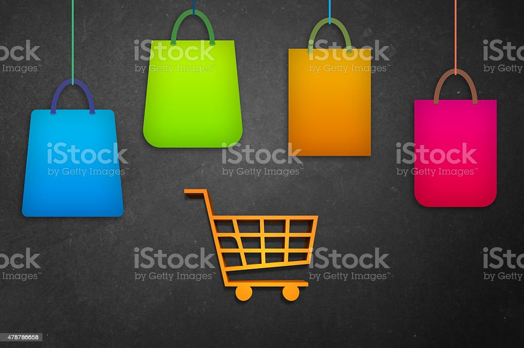 Shopping Spree! stock photo