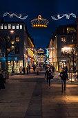 Shopping street in Gothenburg