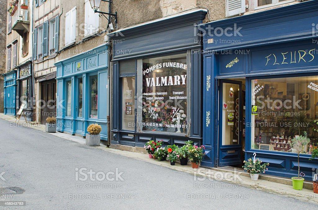 Shopping street royalty-free stock photo