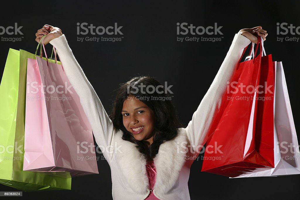 Shopping success royalty-free stock photo
