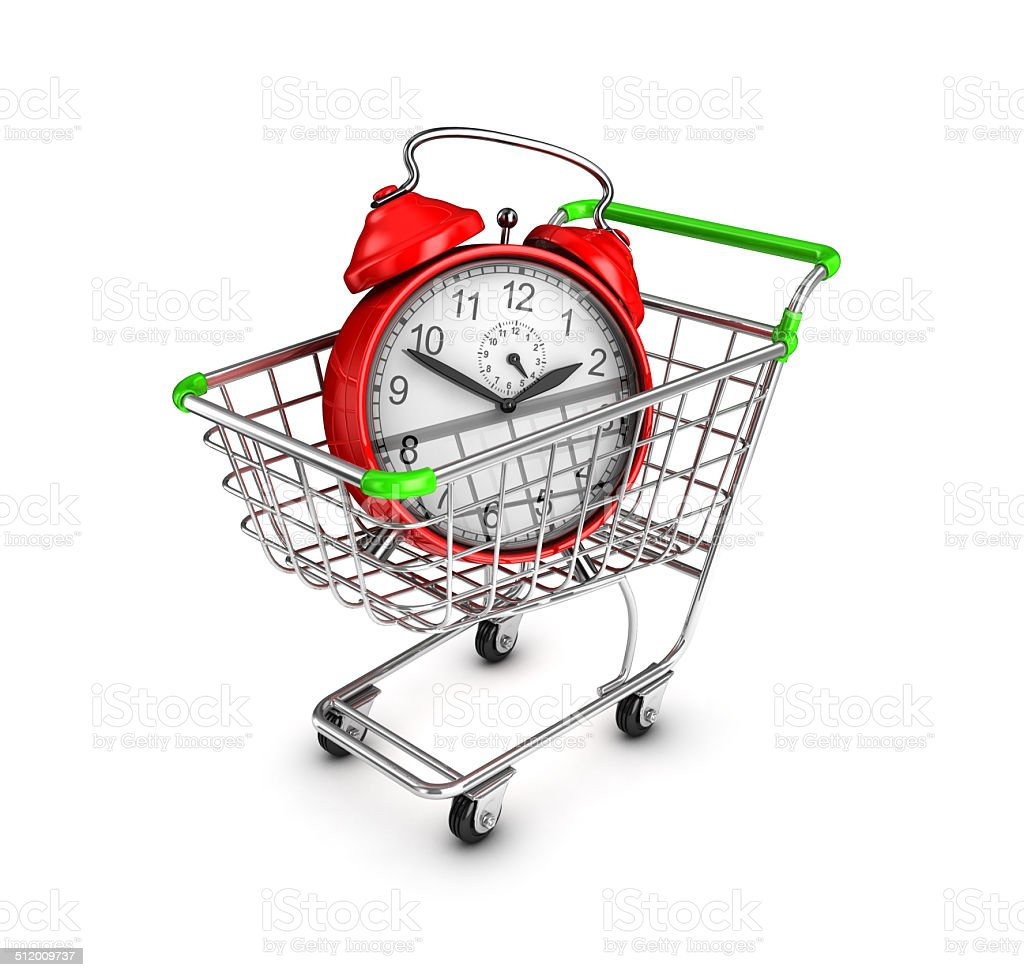 Shopping time. royalty-free stock photo
