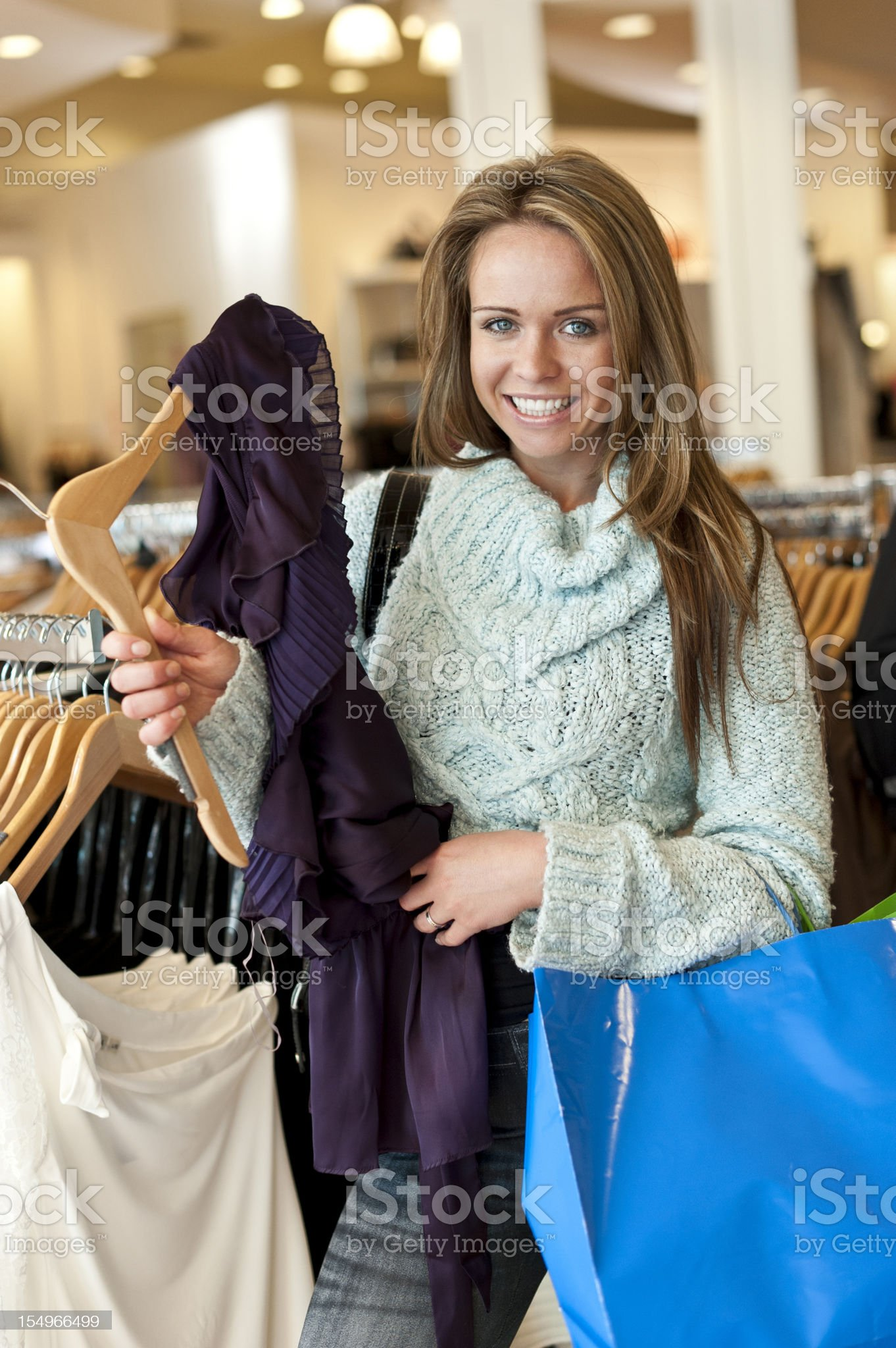 Shopping times royalty-free stock photo