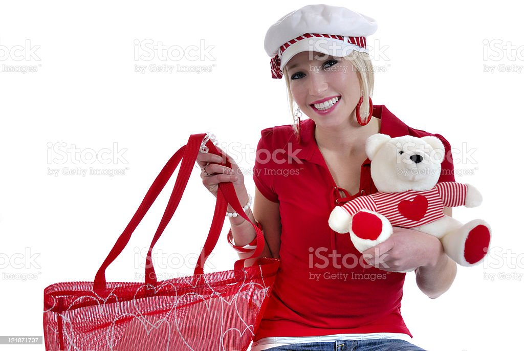 Shopping With You In Mind royalty-free stock photo