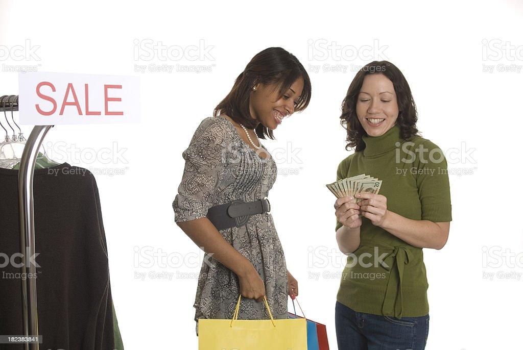 Shopping Women royalty-free stock photo