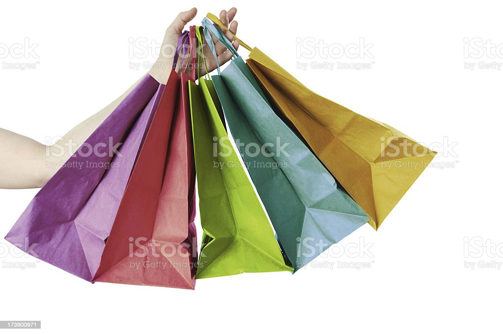 shoppping royalty-free stock photo