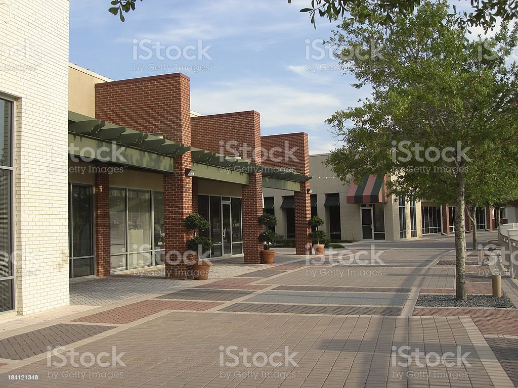 Shops after hours royalty-free stock photo