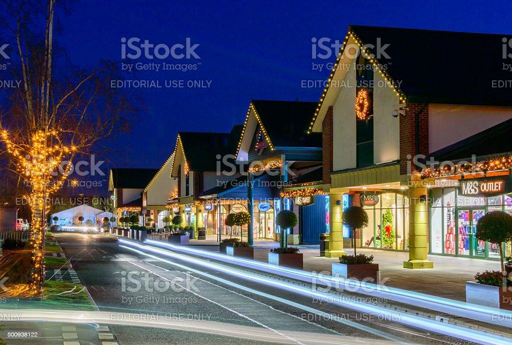 shops at East Midlands Designer Outlet (McArthurglen East Midlands) stock photo